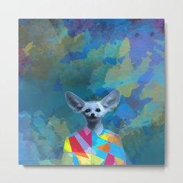 The Fennec fox Metal Print