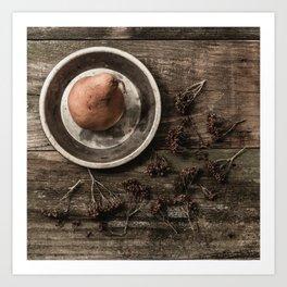 Bosc Pear 3 Art Print