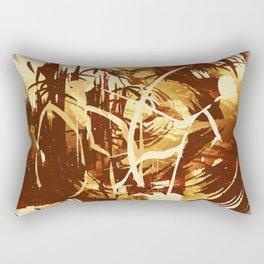 Afrikanische Krieger Rectangular Pillow