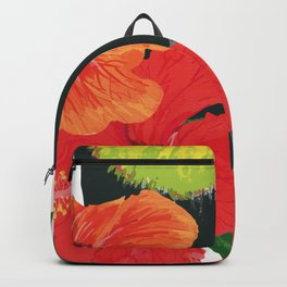 Toucan and hibiscus Backpack