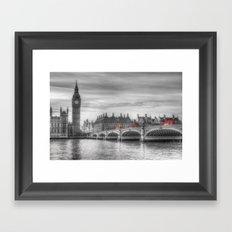 Westminster Bridge and Big Ben Framed Art Print