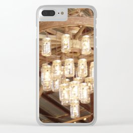 Hanging Masons Clear iPhone Case
