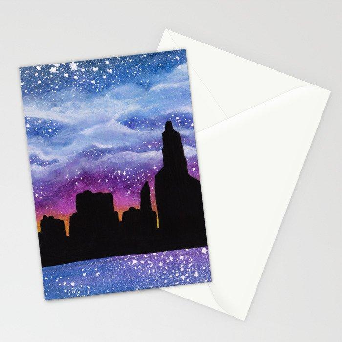 City of Stars Stationery Cards