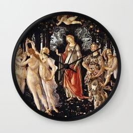 Sandro Botticelli - La Primavera , Spring Wall Clock
