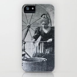 Antique candle making iPhone Case
