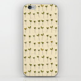 sprouts cream iPhone Skin