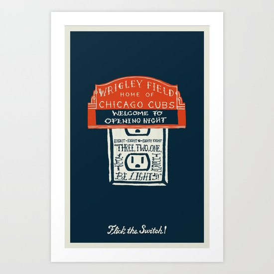 Flick the Switch Art Print