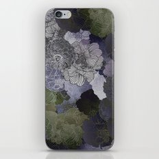 FLORAL FORREST iPhone & iPod Skin