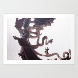 Dance upon a dream Art Print