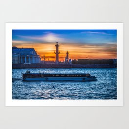 Saint Petersburg Art Print