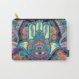 Hamsa Hand Carry-All Pouch