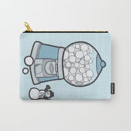 Snow Ball Gum Ball Carry-All Pouch