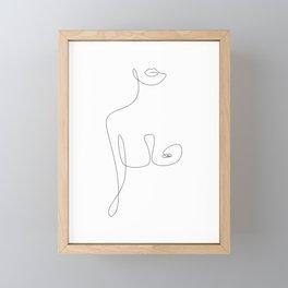 Lip To Nip Framed Mini Art Print