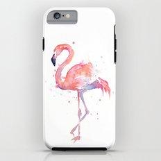 Flamingo Watercolor Tough Case iPhone 6s
