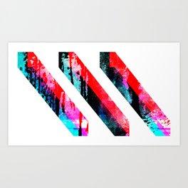 PRISM³ Art Print