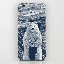 bear factor iPhone Skin