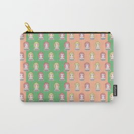 Mandarin Orange Girl Carry-All Pouch