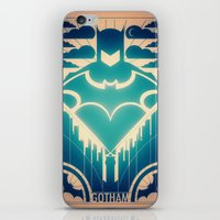 gotham iPhone & iPod Skins featuring Gotham by Lazare Gvimradze