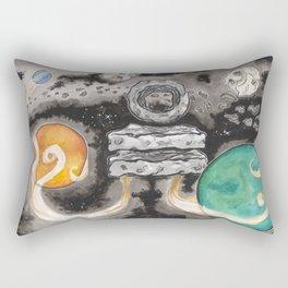Floating Stones Rebalanced Rectangular Pillow