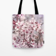 Icy Pink Blossoms - In Memory of Mackenzie Tote Bag