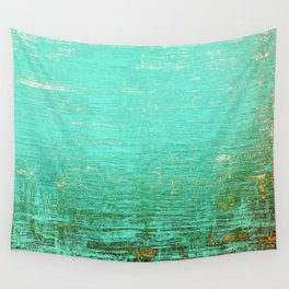 Vintage Blue Wall Tapestry