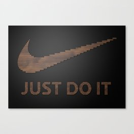 Just type it Canvas Print