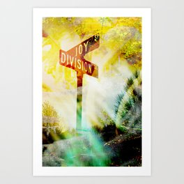 """Corner of Division and Joy""  Art Print"