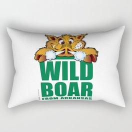 Wild Boar from Arkansas! Rectangular Pillow