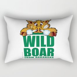 Wild Boar from Arkansas! Rectangular Pillow
