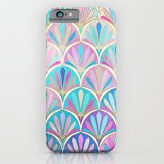 Glamorous Twenties Art Deco Pastel Pattern iPhone 6 Slim Case