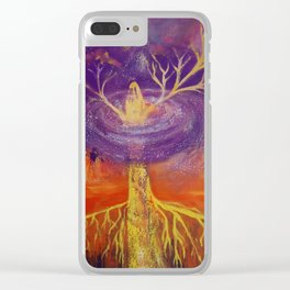 Being of Light Clear iPhone Case