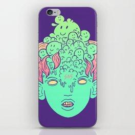 brain parasites iPhone Skin