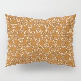 Hexagonal Circles - Tumeric Pillow Sham