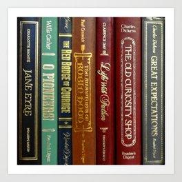 Books 3 Art Print
