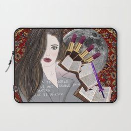 Intelligence and Beauty  Laptop Sleeve