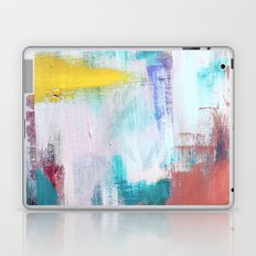 Colfax: an interesting, vibrant, abstract mixed media piece in a variety of colors Laptop & iPad Skin