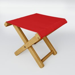 Bright red Folding Stool