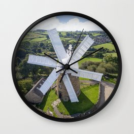 Heage Windmill Wall Clock
