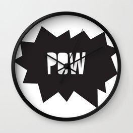 Pow pow Wall Clock