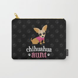 Chihuahua Aunt Pet Owner Cute Dog Lover Carry-All Pouch