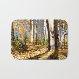 Crested Butte Colorado Fall Colors Panorama - #2 Bath Mat