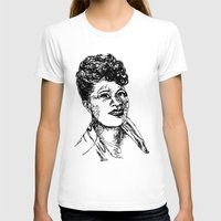 fitzgerald T-shirts featuring Icon: First Lady of Song by DalkeDesigns