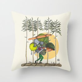 Baggage Throw Pillow