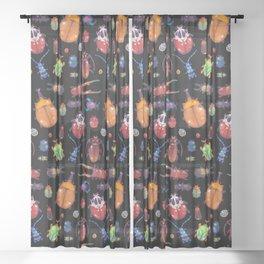 Beetle Sheer Curtain