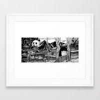 china Framed Art Prints featuring China by Matt Ferguson