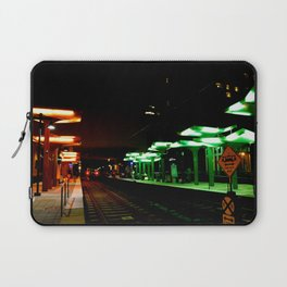 Bus Station Nights Laptop Sleeve