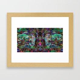 Mind Flight Framed Art Print