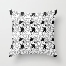 Oh Frenchie Throw Pillow