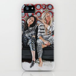 Brynn and Kristin iPhone Case