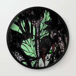 Demon Fairy Wall Clock